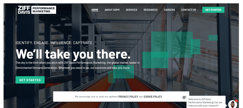 salesify/ziff davis performance marketing